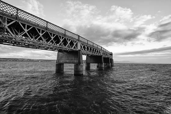 Tay Railway Bridge by John Drummond (1st place)